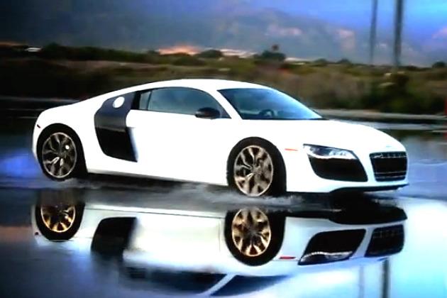 the audi r8 driving a dream car video